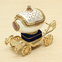 Royal Carriage Egg Carving Musikbox DIY