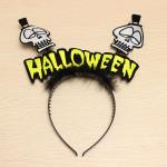 Skull Head Hoop Tillbehör Halloween Party Maskerad / Halloween