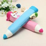Soft Cartoon Plush Toys Pencil Case Stationery Pouch Bag Dolls & Stuffed Toys