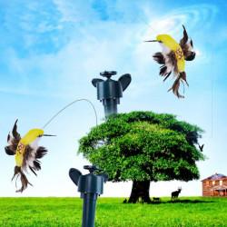 Solar Ström Leksaker för barn Shake Flying Hummingbird