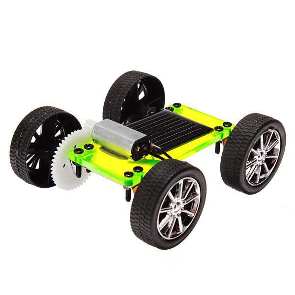 Solar Ström Leksaksbil Pedagogiska leksaker Special Edition monterad modell Soldrivna Leksaker