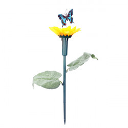Solar Power Toys Sunflower Fly Butterfly Courtyard Garden Pots