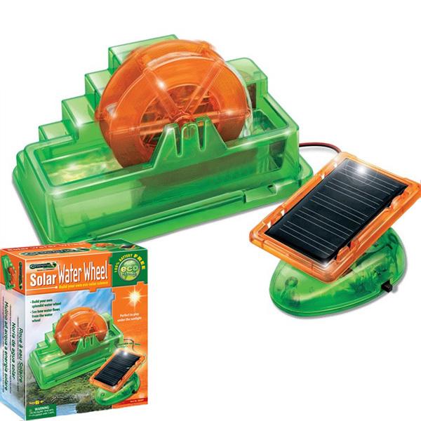 Solar Water Wheel Solar Powered Leksaker 36.207 Soldrivna Leksaker