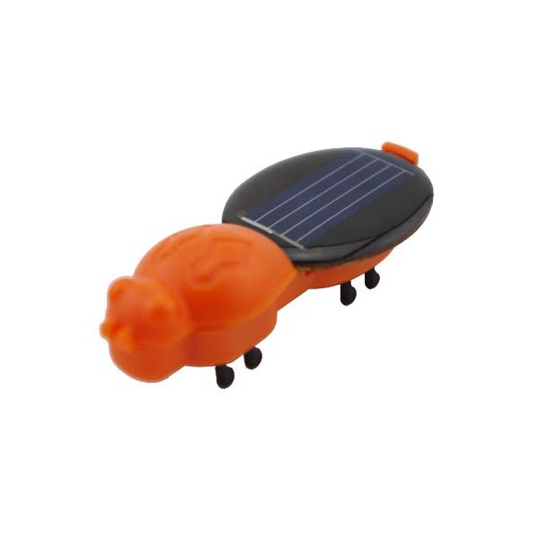 Solar Worm Solar Power Toy Orange Solar Powered Toys
