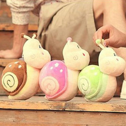 The Snail Little Doll Plush Toys Wedding Doll
