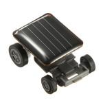 Världens minsta Mini Solar Powered Toy Car Racer Soldrivna Leksaker