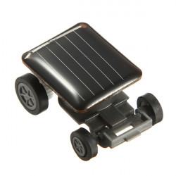The World's Smallest Mini Solar Powered Toy Car Racer