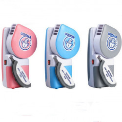 Opgraderet Version USB Mini Portable Handheld Air Conditioner Cooler Fan