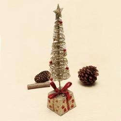 Wrought Iron Mini Christmas Tree Christmas Gift Desktop Decoration