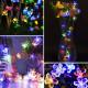 10M Kirschblüte Blumengirlande RGB LED String Kristallblumen 2021