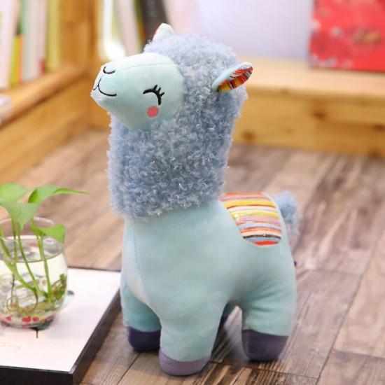 25cm Cute Sheep Plush Alpaca Toys Stuffed Animals Alpacasso 2021