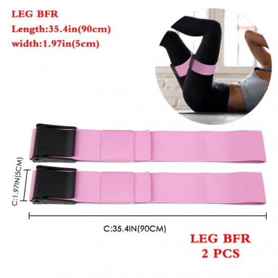 BFR Booty Bands Blood Flow Restriction Bands Resistance Butt Squat Thigh Glutes Hip Building Kaatsu Straps Gym Fitness Equipment