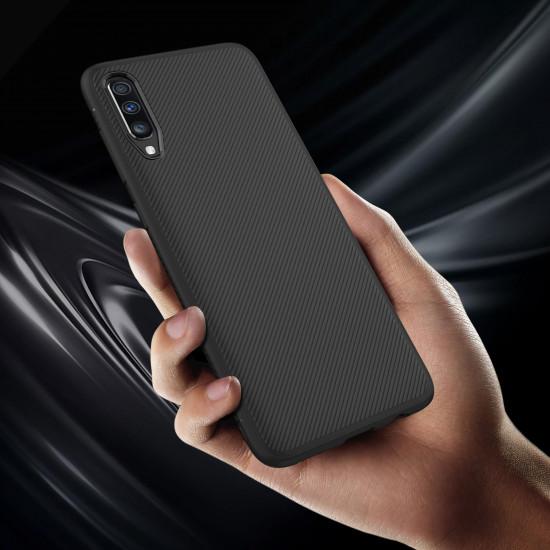 Carbon Fiber Case Samsung Galaxy A70 Shockproof TPU Cover 2021