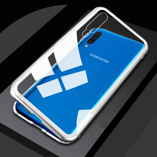 Magnetic Adsorption Aluminum Tempered Glass Cover Samsung Galaxy A70 2021