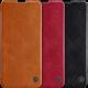 Flip Bumper Stötsäker Korthållare Fodral Konstläder Vintage Skal Samsung Galaxy A71 2021
