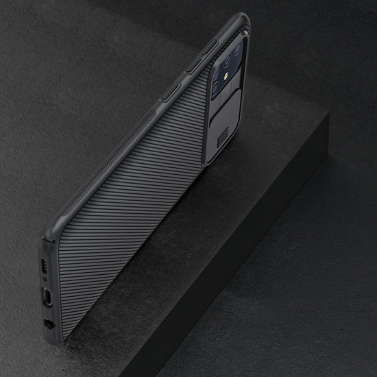 Stötsäker Slide Camera Fodral Samsung Galaxy A51 2021