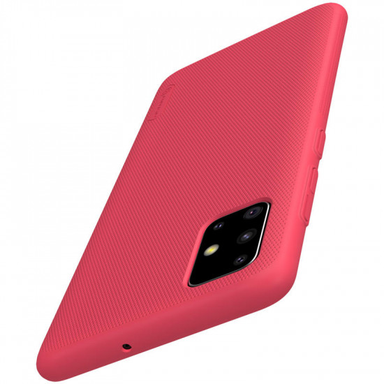 Frosted Anti-Fingerprint Stoßfest PC Hülle Samsung Galaxy A51 2021