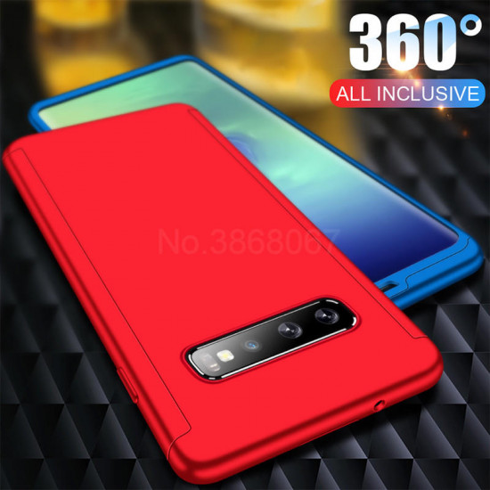360 Fodral PC Front+Fodral Skärmskydd Samsung Galaxy S10e / S10 / S10 Plus 2021