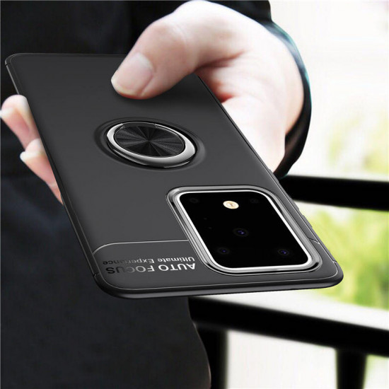 360 Rotating Magnetic Ring Holder TPU Shockproof Case Samsung Galaxy S20 2021