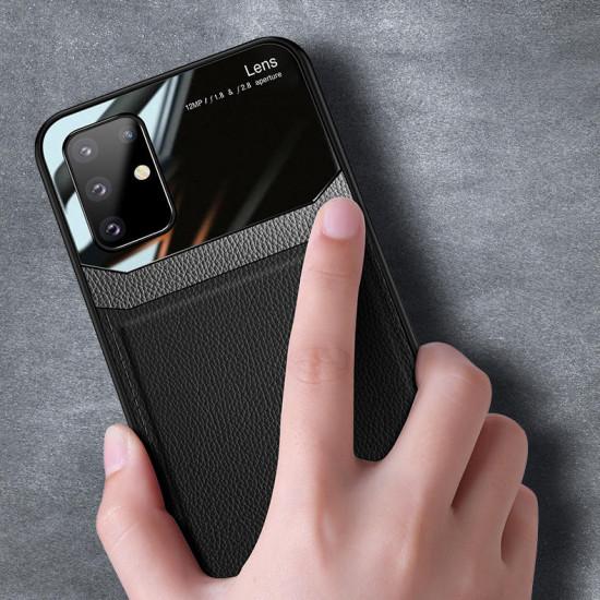 Samsung Galaxy S20+ / S20 Plus Luxury Business PU Leather Mirror Glass Shockproof Case 2021