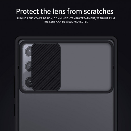 Lens Cover Shockproof Scratch Resistant Translucent Matte Silicone Case Samsung Galaxy Note 20 2021