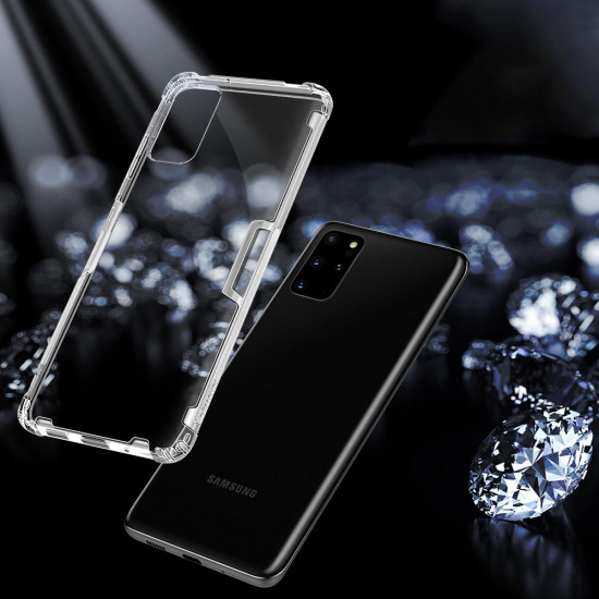 Bumpers Natural Transparent Shockproof TPU Case Samsung Galaxy S20+ / S20 Plus 5G 2021