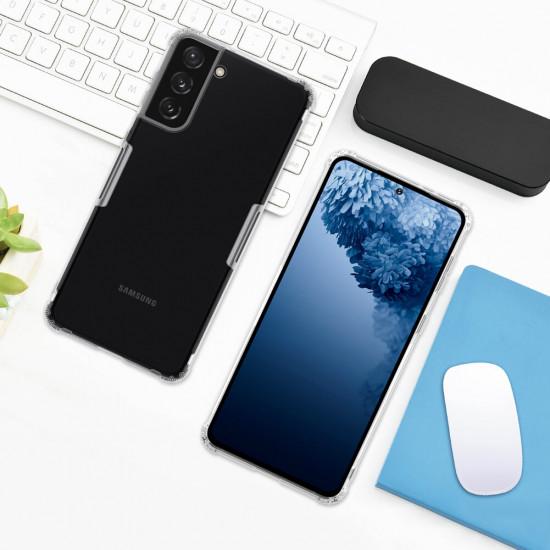 Samsung Galaxy S21+ Hülle Bumpers Natural Transparent Stoßfest TPU Schutzhülle 2021