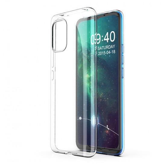 Crystal Clear Transparent Tunt Skal Xiaomi Mi 10 Lite 2021