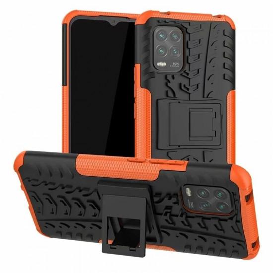 Armor Stoßfest Hard PC Folded Stand Hülle Xiaomi Mi 10 Lite 2021