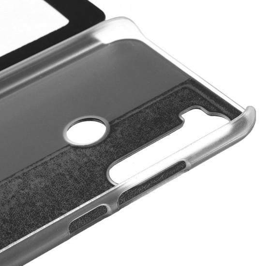 Luxury Business Flip View Window PU Leder Schutzhülle Poco F2 Pro / Xiaomi Redmi K30 Pro 2021