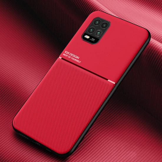 Gradient Color with Four-Corner Airbag Shockproof Translucent Case for Xiaomi Mi 10 Lite 2021