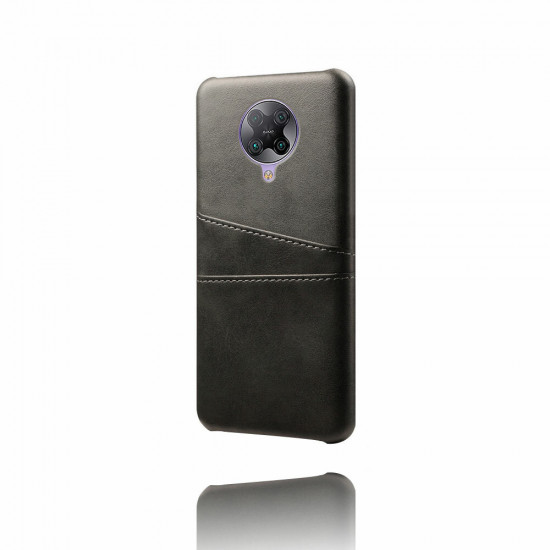 Poco F2 Pro / Xiaomi Redmi K30 PRO Skal Luxury Konstläder med Korthållare Bumpers Stötsäker Reptålig Skal 2021