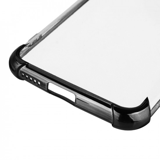 Xiaomi Mi 10 Lite Skal 2 i 1 med Airbag Kameralinsskydd Tunt Anti-Fingeravtryck Stötsäker Transparent Skal 2021