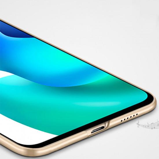 MOFI Matte Ultra-Thin Anti-Fingerprint Anti-Scratch with Camera Protector Case for Xiaomi Mi 10 Lite 2021