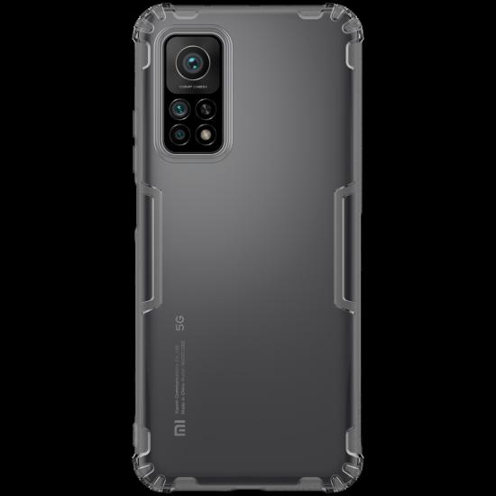 Enkay Xiaomi Mi 10T 5G / Xiaomi Mi Mi10T Pro 5G Skal med Airbags Anti-Fingeravtryck Transparent TPU Skal 2021