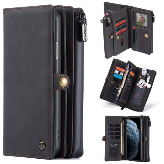 iPhone 11 Business Tasche Schutzhülle Stoßfest PU Leder 2021