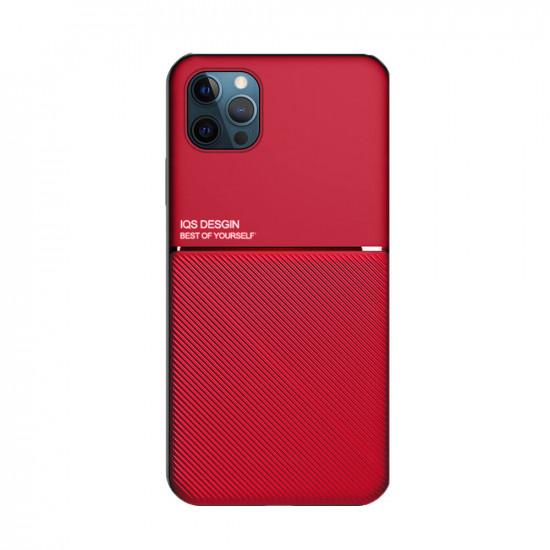 iPhone 12 Pro / 12 Hülle Magnet Leder Texture Non-Slip Stoßfest Hülle Schutzhülle 2021