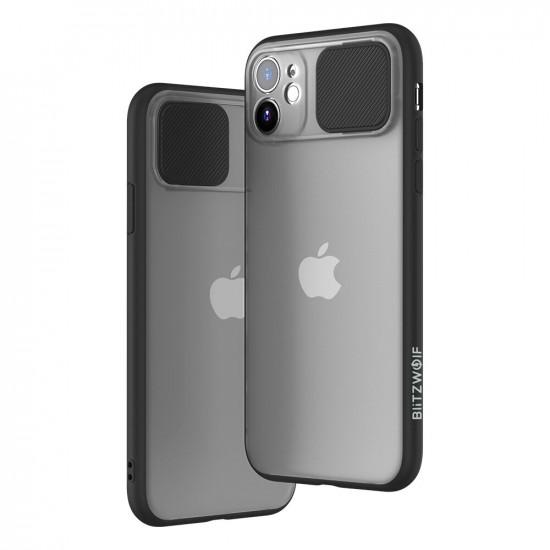 Slide Lens Cover Shockproof Translucent Case iPhone 11 / 11 Pro / 11 Pro Max 2021