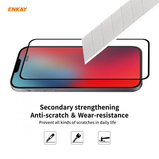 2-in-1 iPhone 12 Stoßfest Kamera Linsenschutzor Silikon Hülle 9H Panzerglas Displayschutz 2021