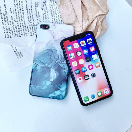 Painting Pattern Silicone Shockproof Case iPhone X / XS / XR / XS Max / 7 / 8 / 7 Plus / 8 Plus 2021