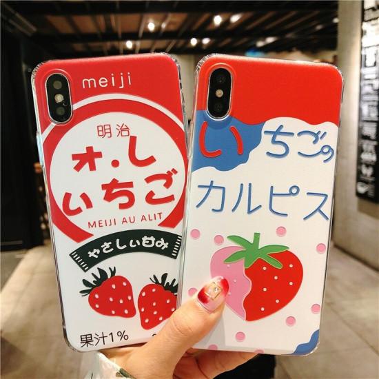 iPhone 6 / 6S / 7 / 8 / 6S Plus / 6 Plus Skal Fruit Motiv Skal Fodral 2021
