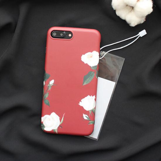iPhone X / XS Retro Blume Motiv Stoßfest Hülle Schutzhülle 2021