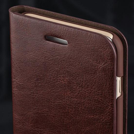 PU Leather Card Slots Full Body Shockproof Flip Case iPhone X / XS / XR / XS Max / 7 / 8 / 7 Plus / 8 Plus / 6 / 6S / 6 Plus / 6S Plus 2021