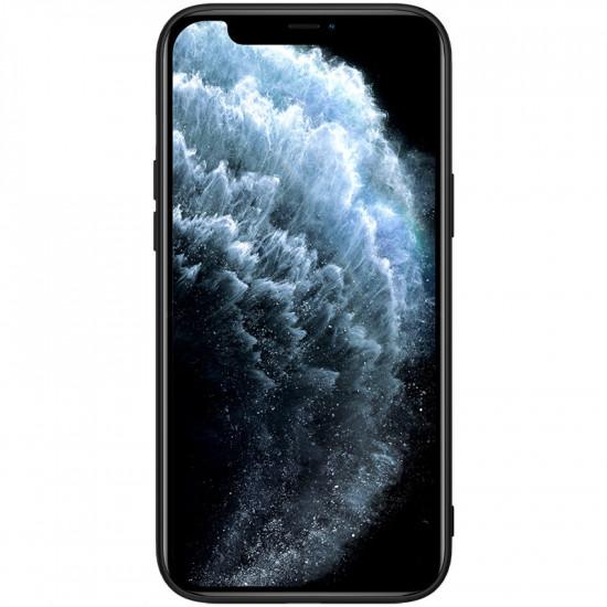 Anti-Slip Synthetic Fiber Textured Stoßfest Hülle iPhone 12/iPhone 12 Pro 2021
