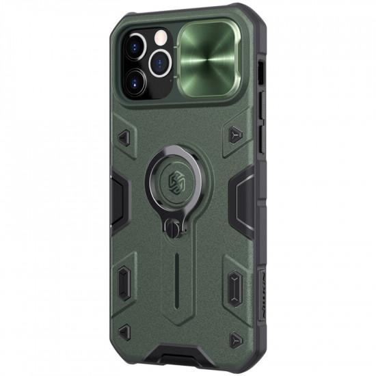 Armor Anti-Peeping Kamera Linsenschutz Impact-proof Hülle Ringhalter iPhone 12 / iPhone 12 Pro 2021
