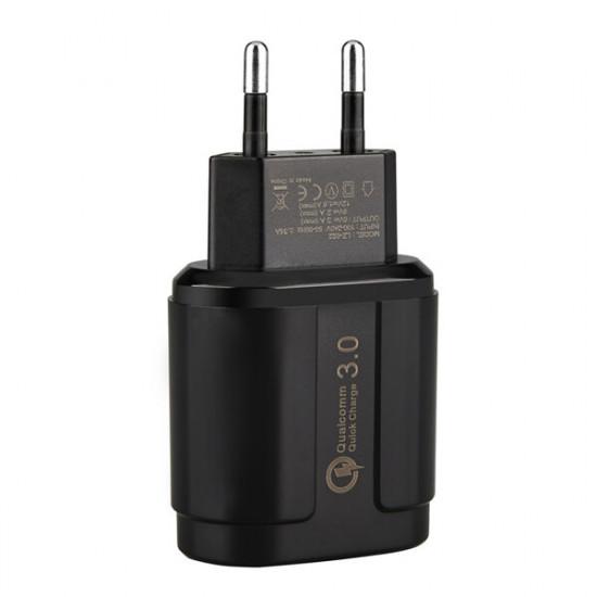 18W QC3.0 Snabbladdare USB Mix 3 Pocophone F1 One Plus 6T S9 Note 9 2021