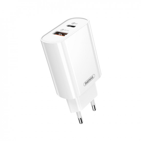 18W Type C USB QC3.0 Snabbladdare USB Laddare Huawei P30 Pro Mate 30 5G 9 Pro K30 S10+ Note10 5G One Plus 7T Pro 2021