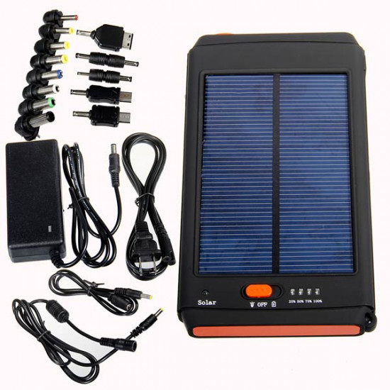 11200mAh Solar Power Bank Panel Charger For Laptop 2021
