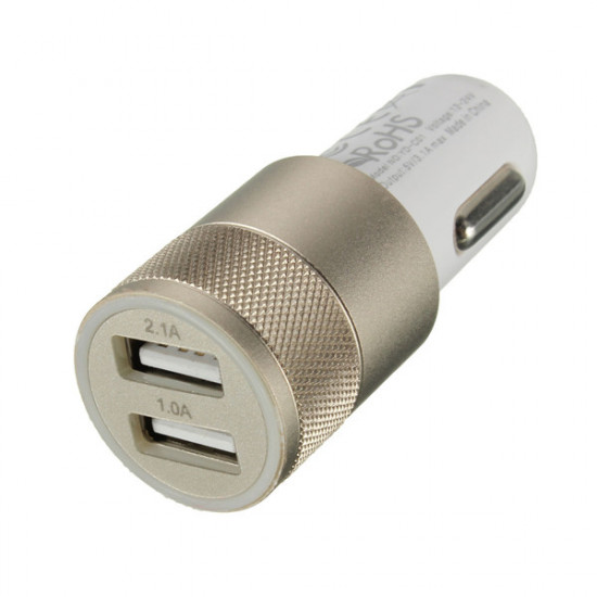 12 / 24v Ersättnings Dubbel USB-Portar Universal Billaddare för iPhone 2021