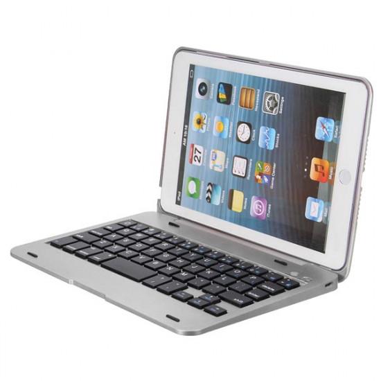 2in1 Bluetooth Tangentbord Vikbar Väska Ställ  för iPad Mini 2021